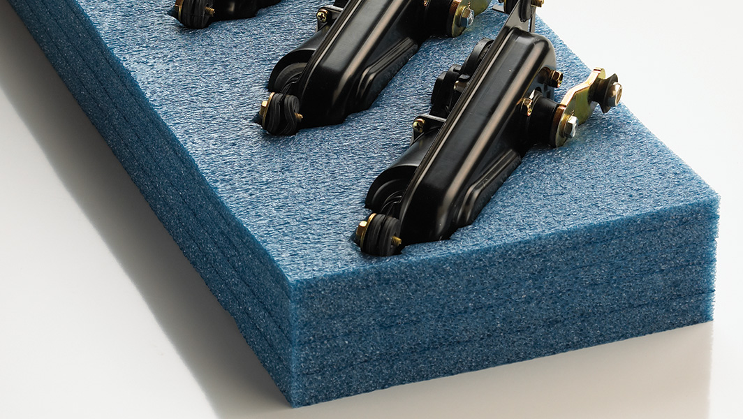 Laminated Polyethylene Plank | Engineered Foam | Pregis